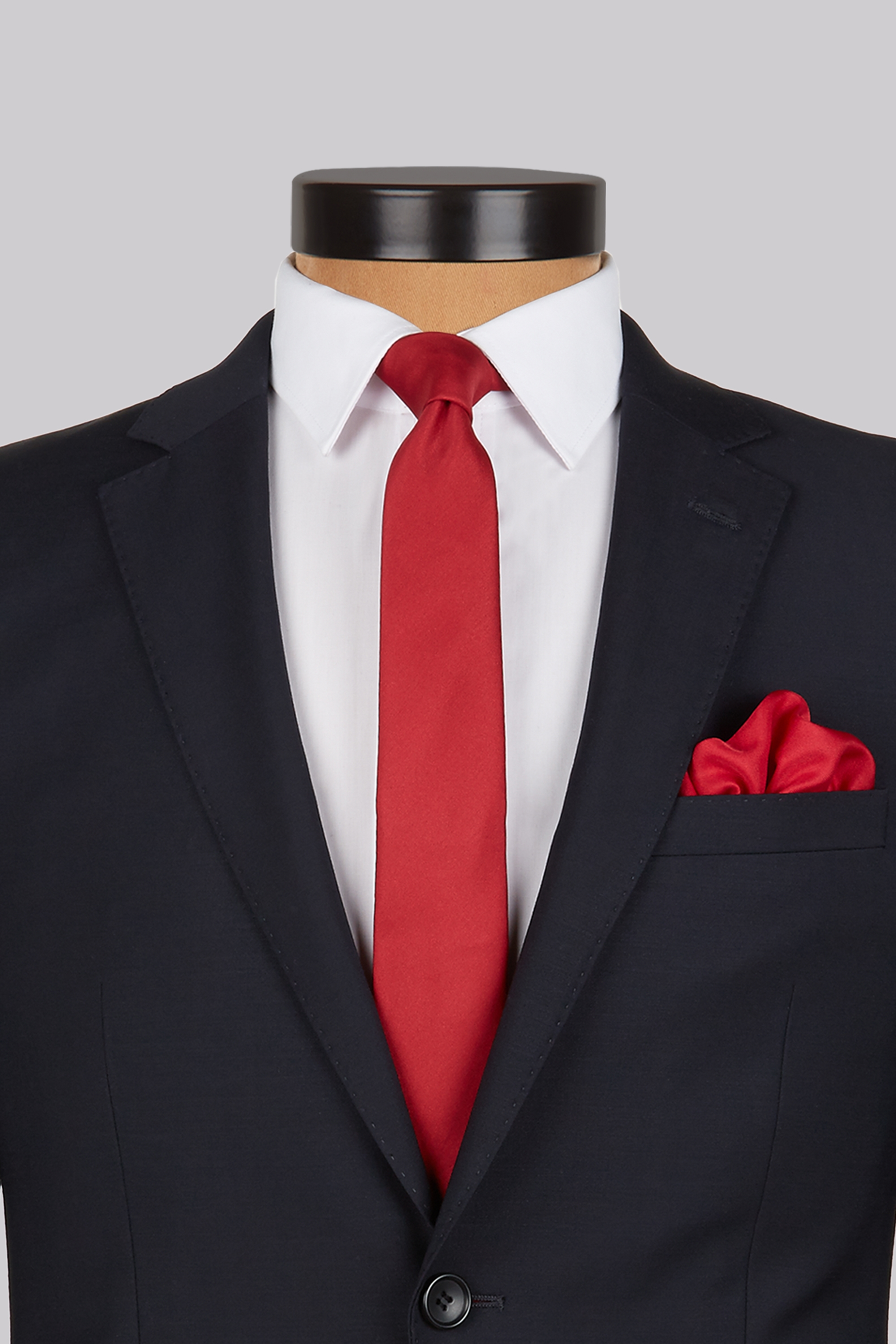 white shirt red tie photo - 1