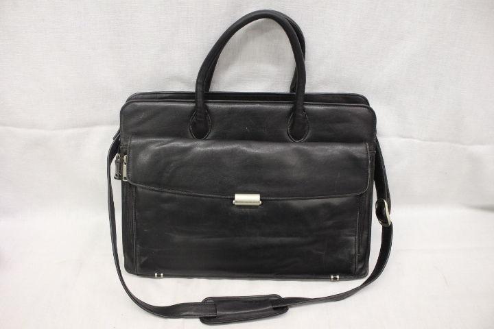wilson leather briefcase photo - 1