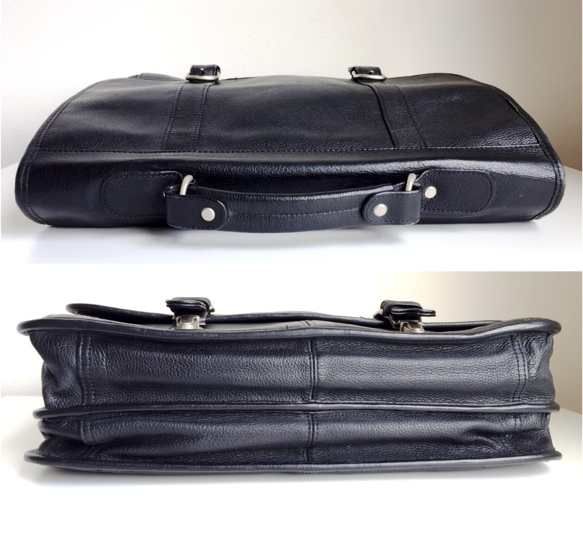 wilsons leather briefcase photo - 1