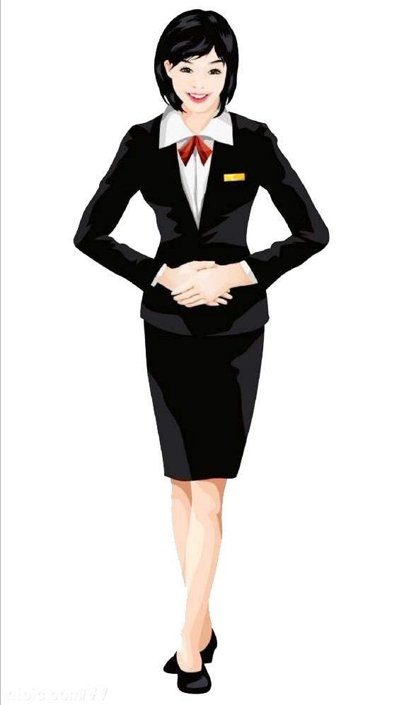 woman business suit photo - 1