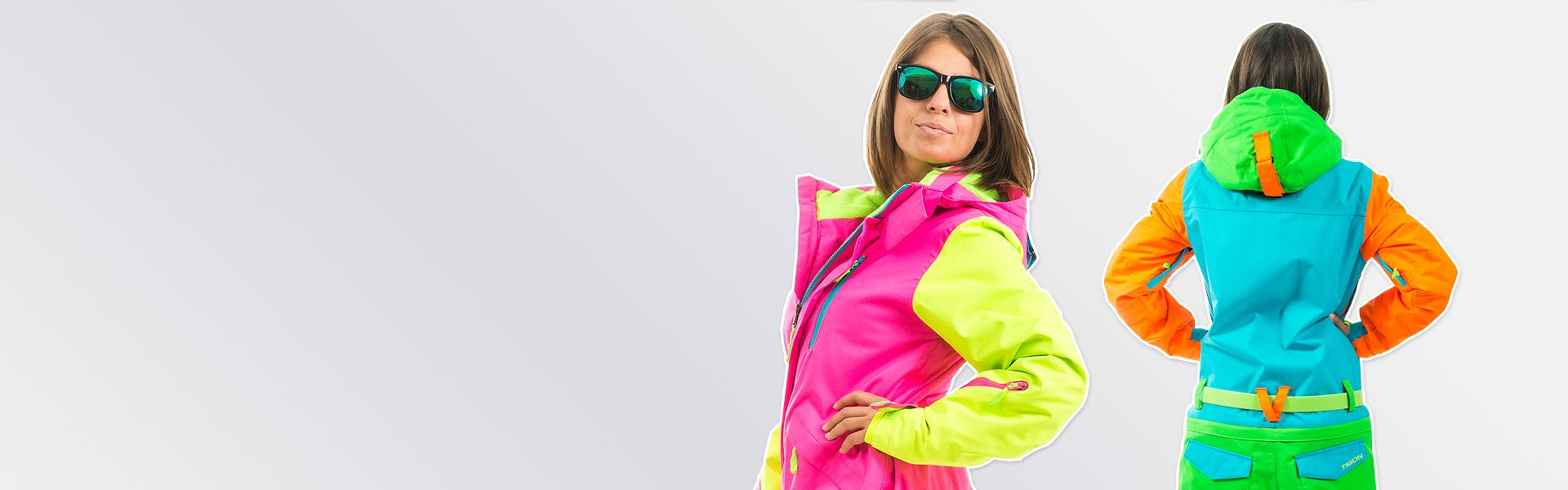 women one piece ski suit photo - 1