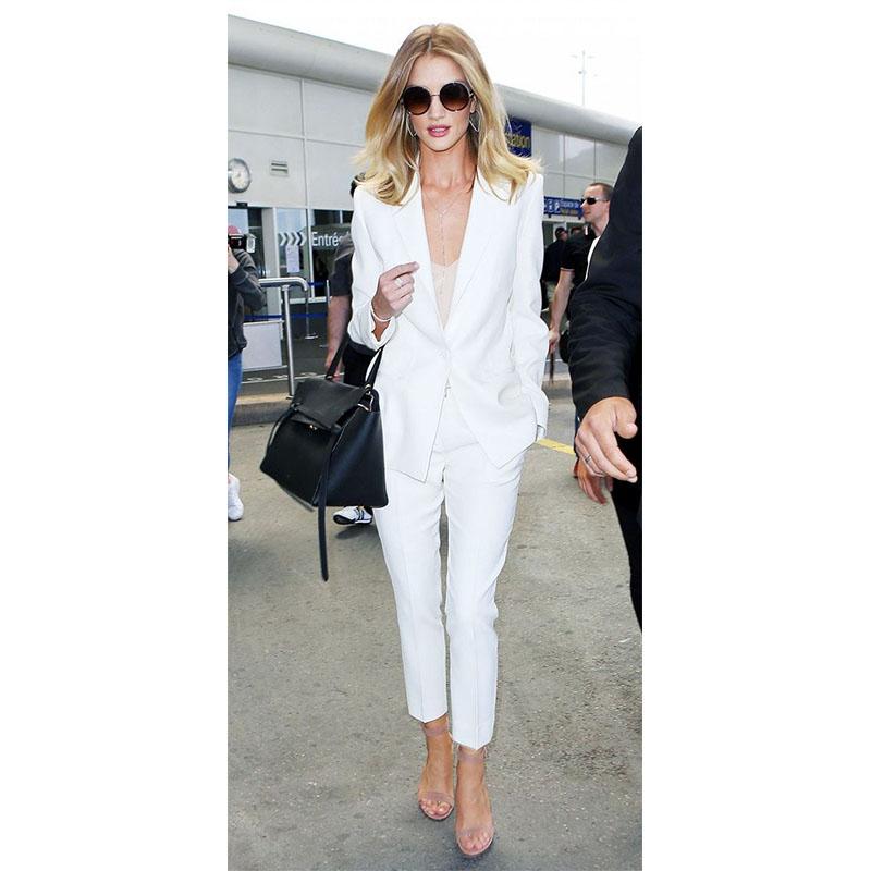 women tuxedo pant suit photo - 1