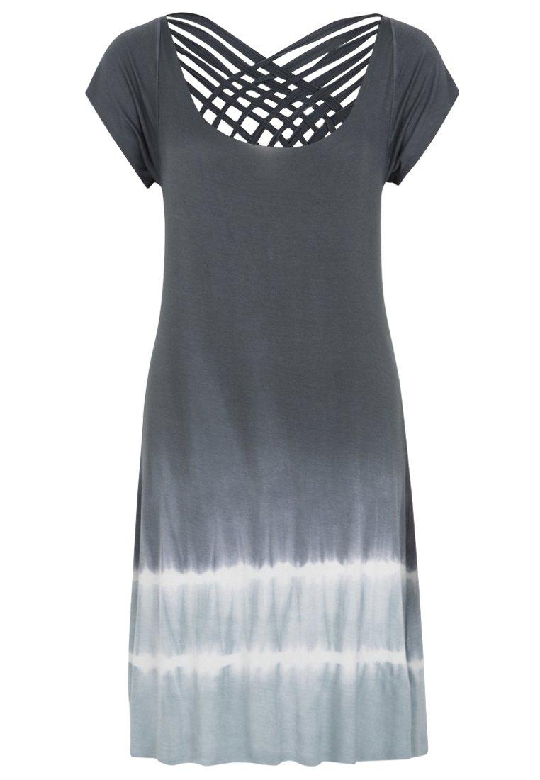 womens tie dye dress photo - 1