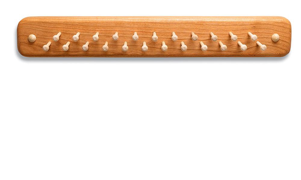 wood tie racks photo - 1