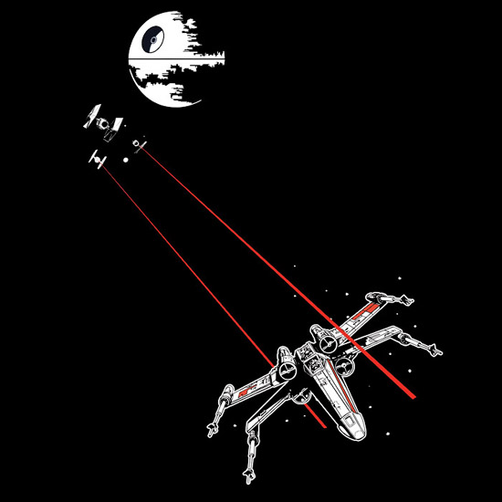 x wing vs tie fighter photo - 1
