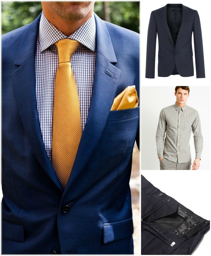 black suit shirt and tie combinations photo - 1