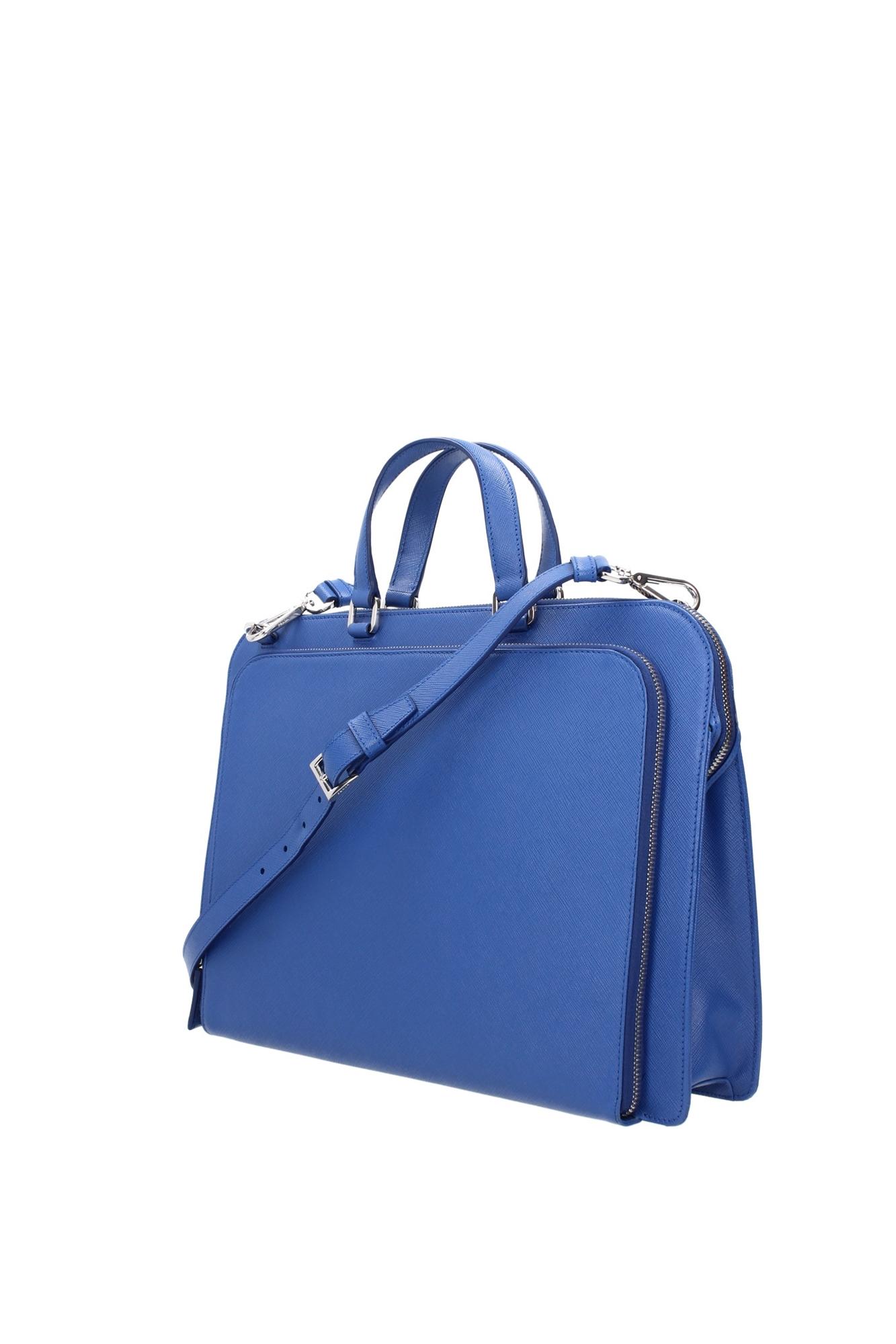 blue briefcase photo - 1