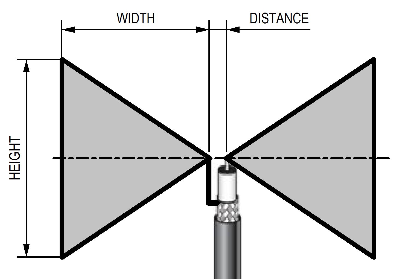 bow tie antenna photo - 1