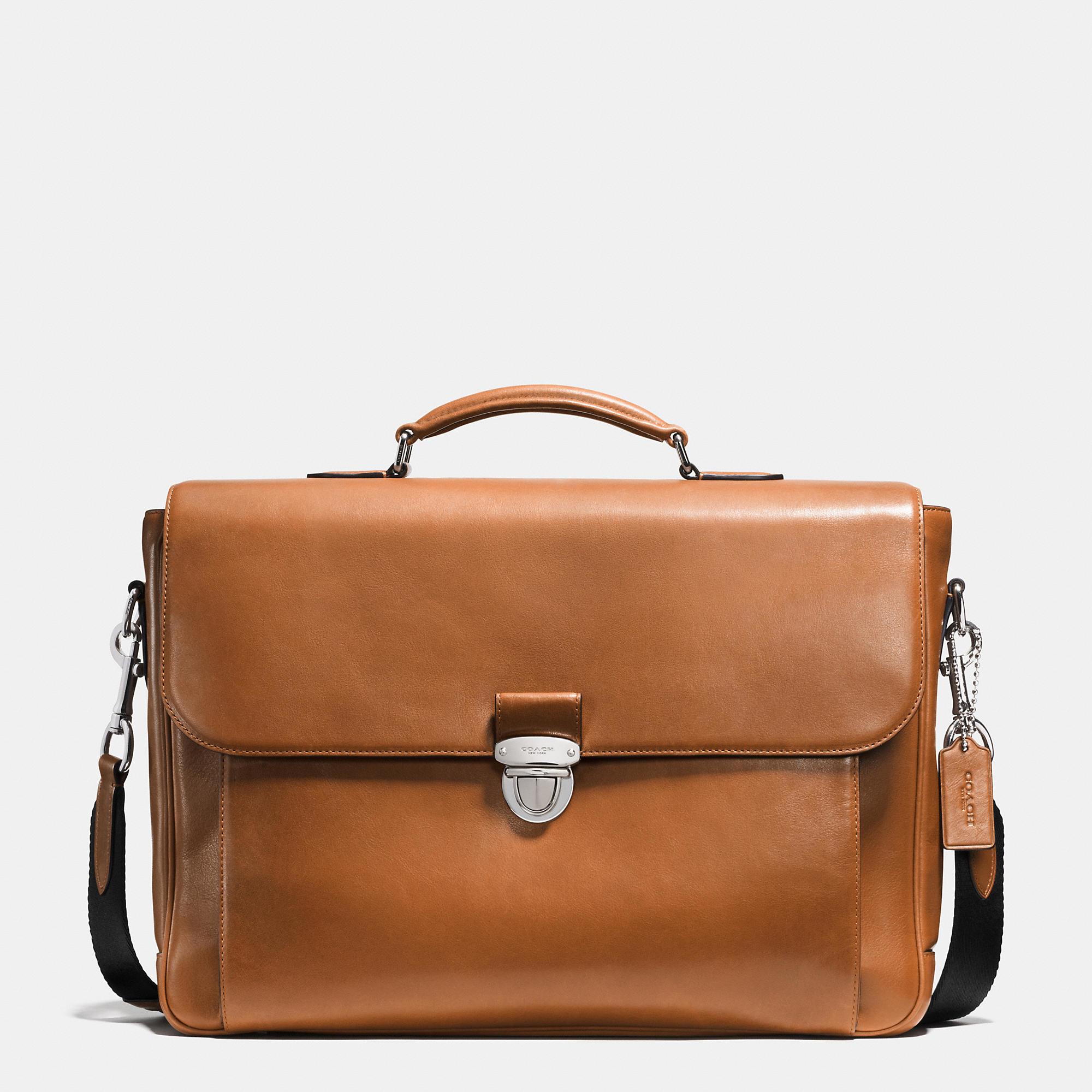 coach metropolitan briefcase photo - 1