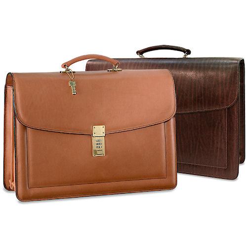 combination lock briefcase photo - 1