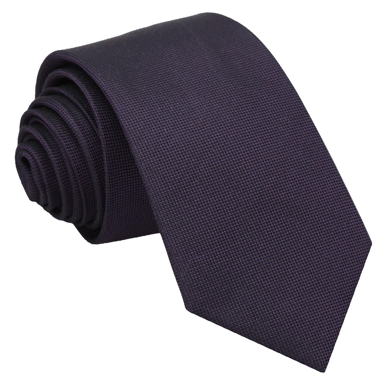 dark purple tie photo - 1