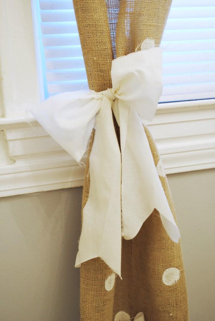 diy curtain tie back photo - 1
