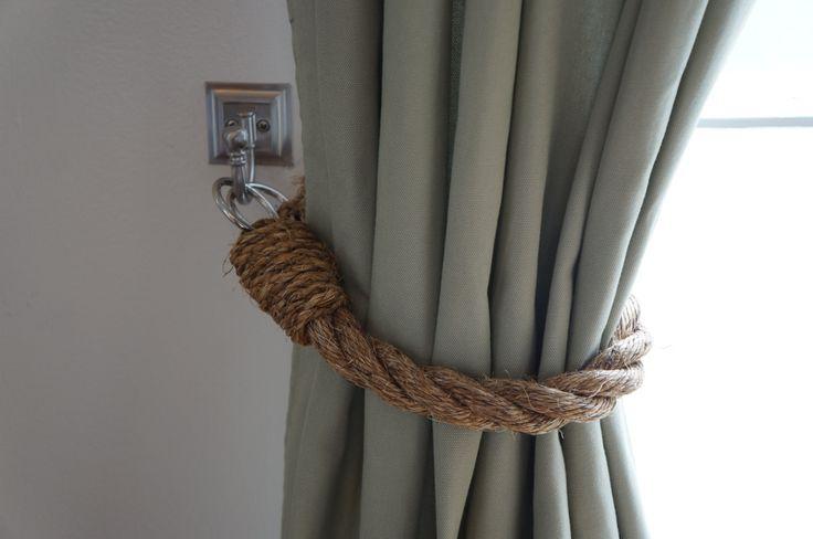 diy curtain tie backs photo - 1