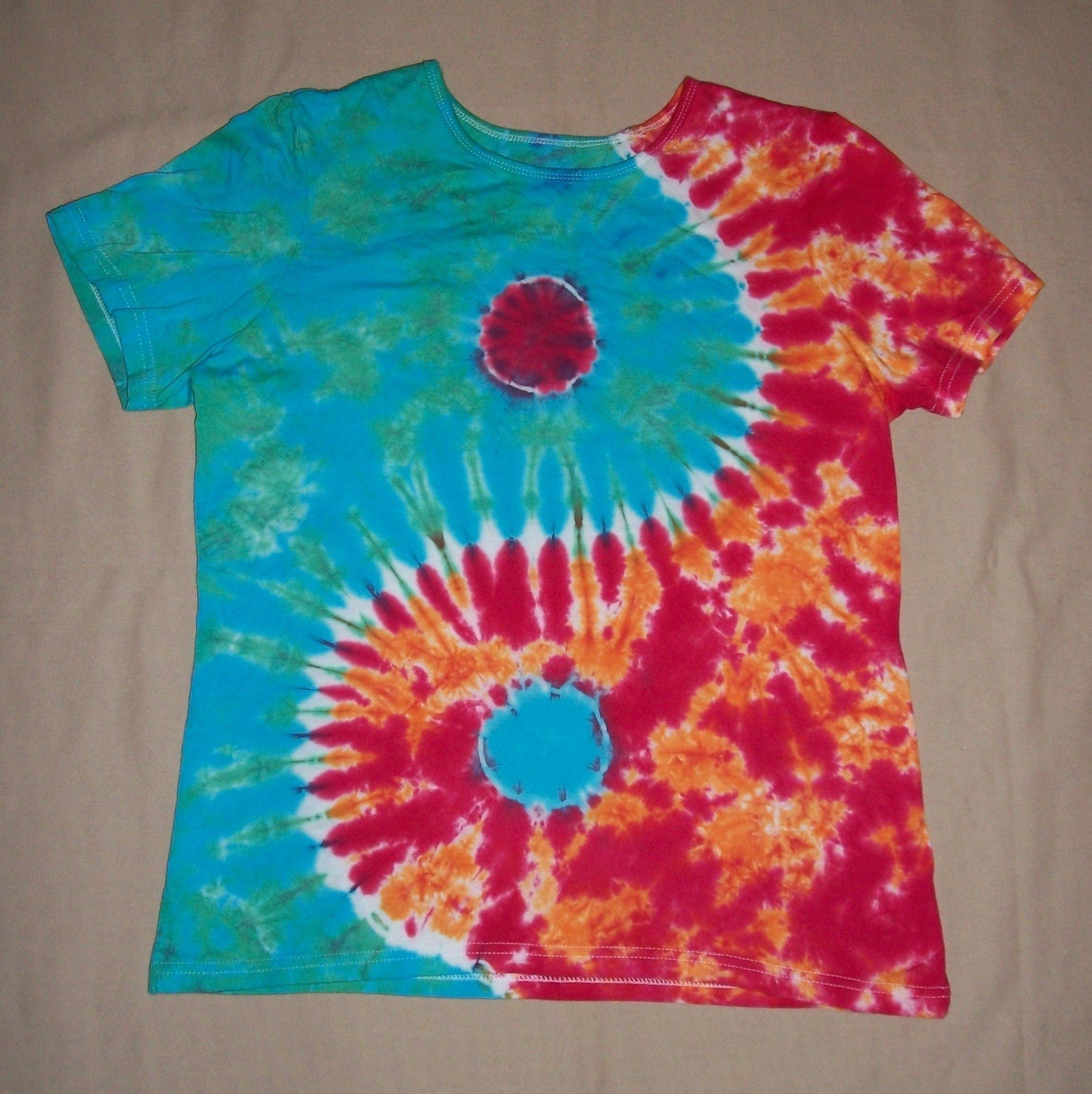 diy tie dye shirts photo - 1