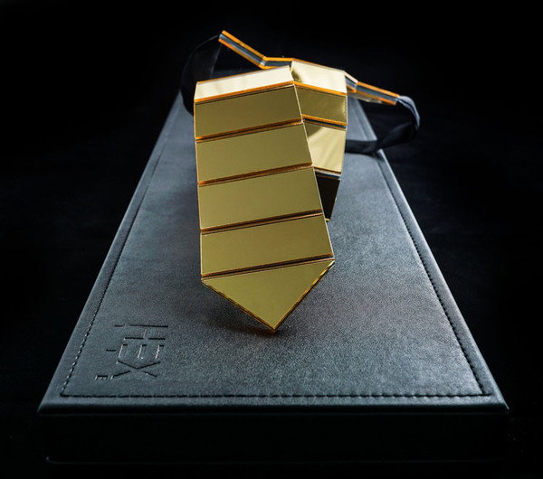 hex tie gold photo - 1