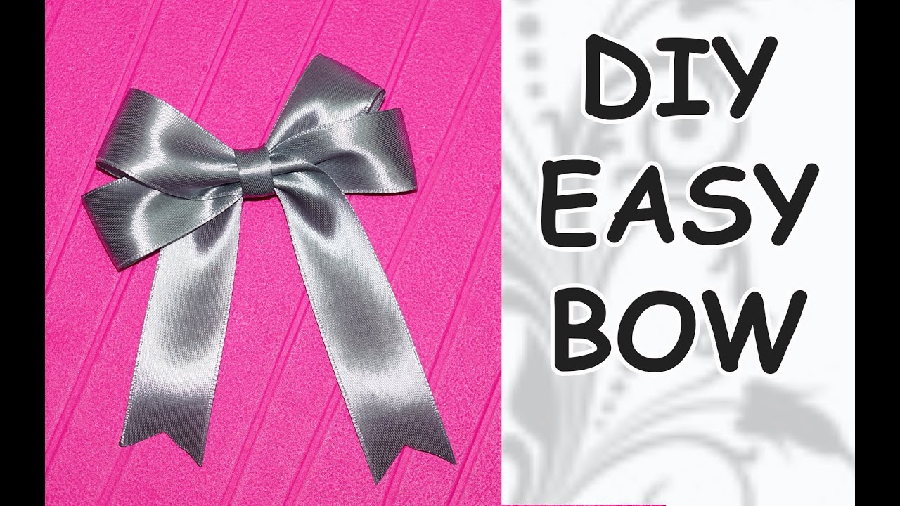 how to make a bow tie out of ribbon photo - 1
