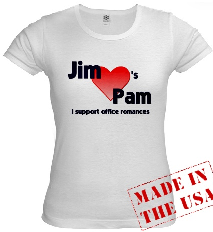 jim from the office t shirt photo - 1