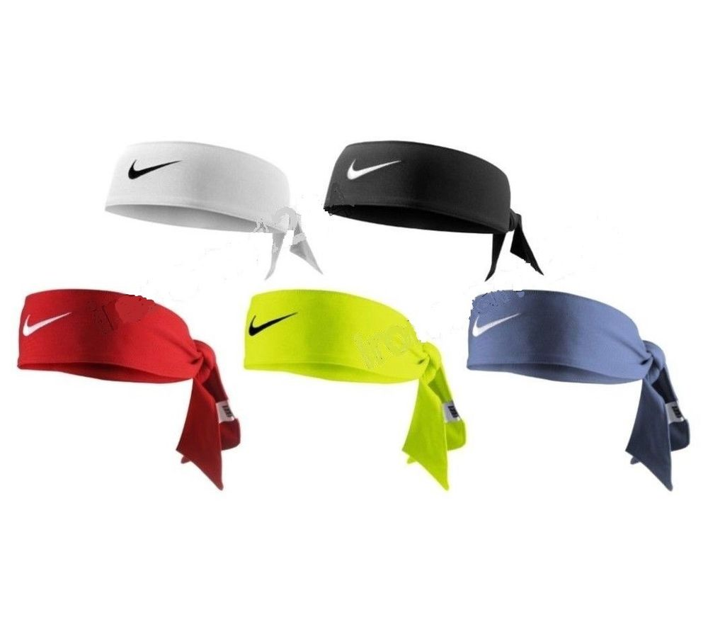 nike dri fit tie headband photo - 1