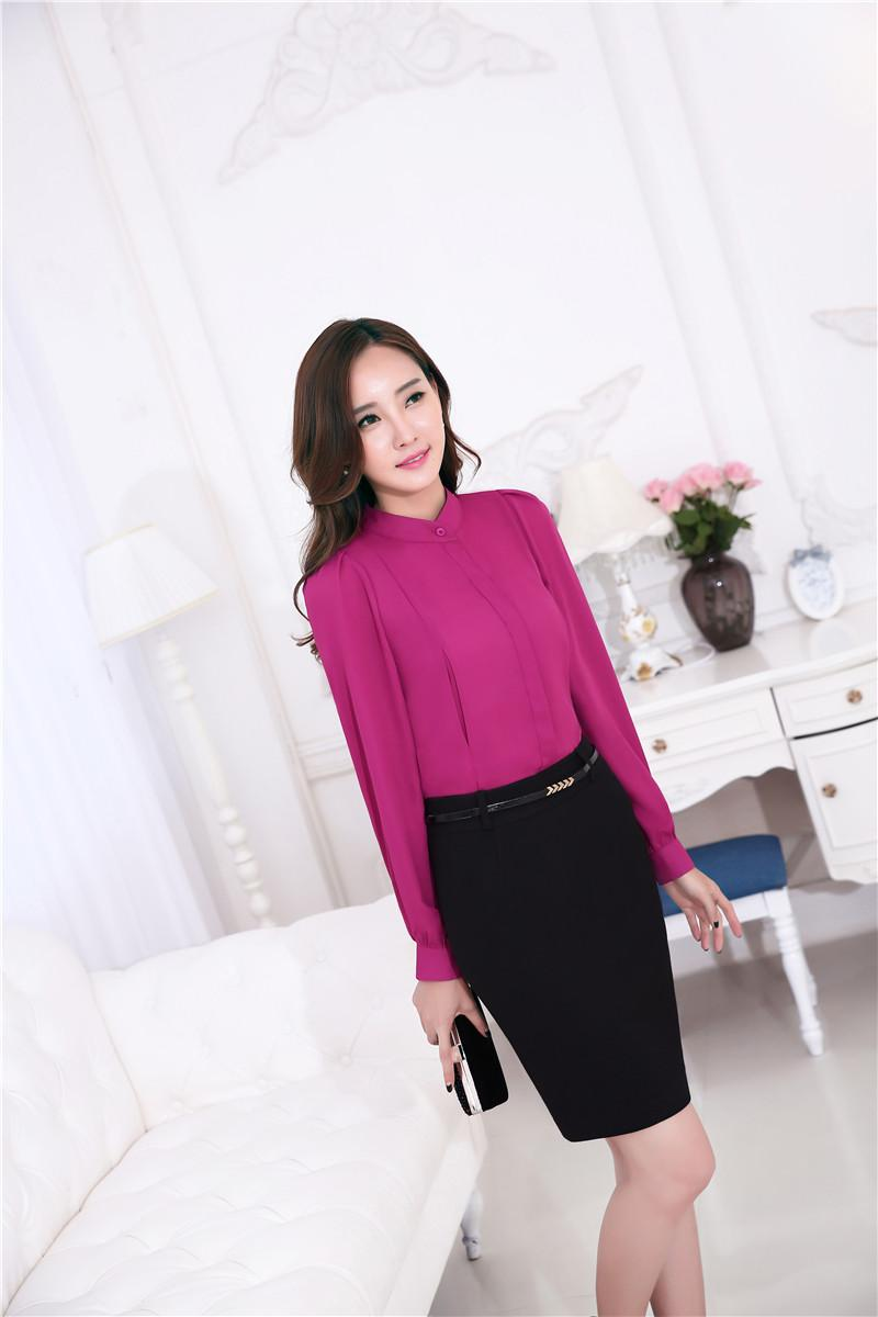 office shirt for ladies photo - 1