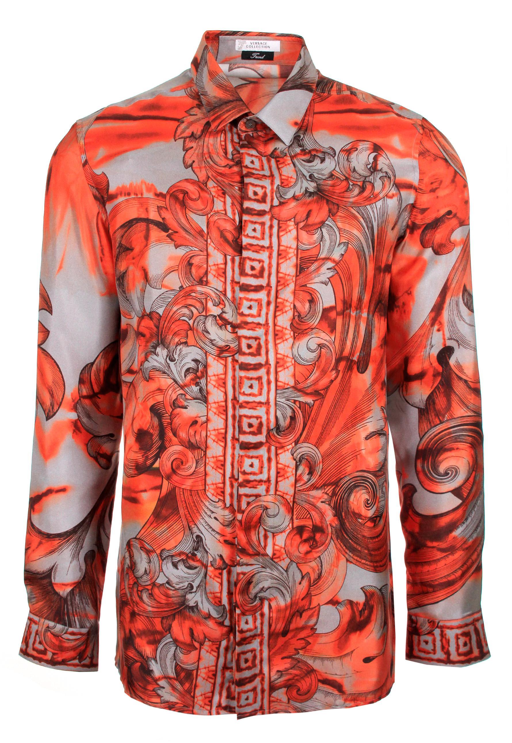 orange tie dye shirt photo - 1