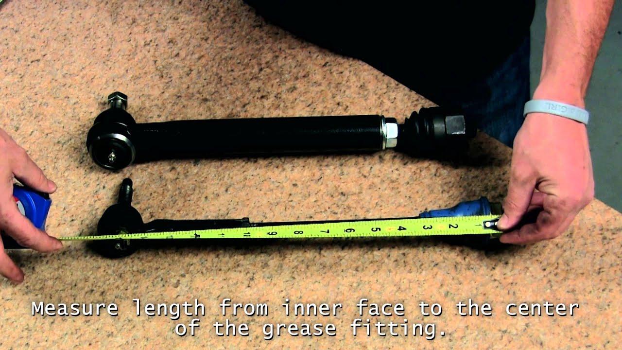 rare parts tie rod photo - 1