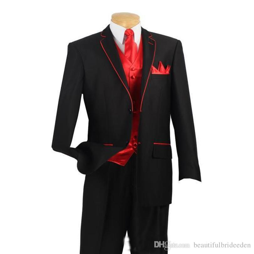 red suit for men photo - 1