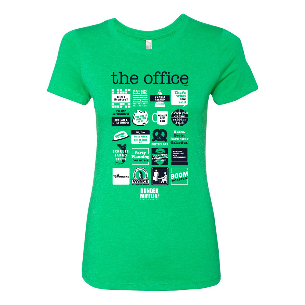 the office quote mashup shirt photo - 1