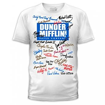 the office signature t shirt photo - 1