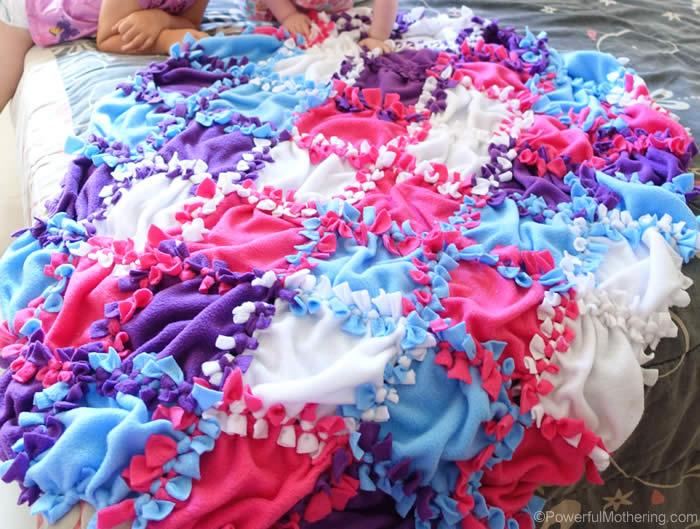 tie blanket kits photo - 1