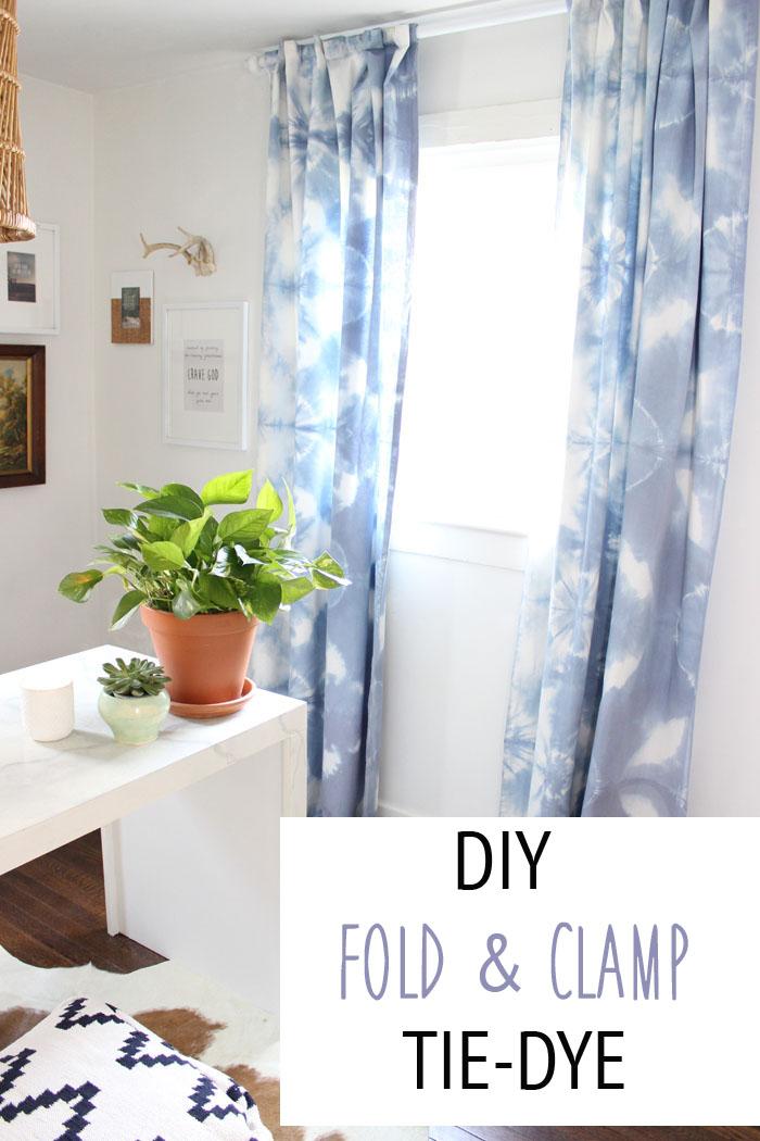 tie dye curtains photo - 1
