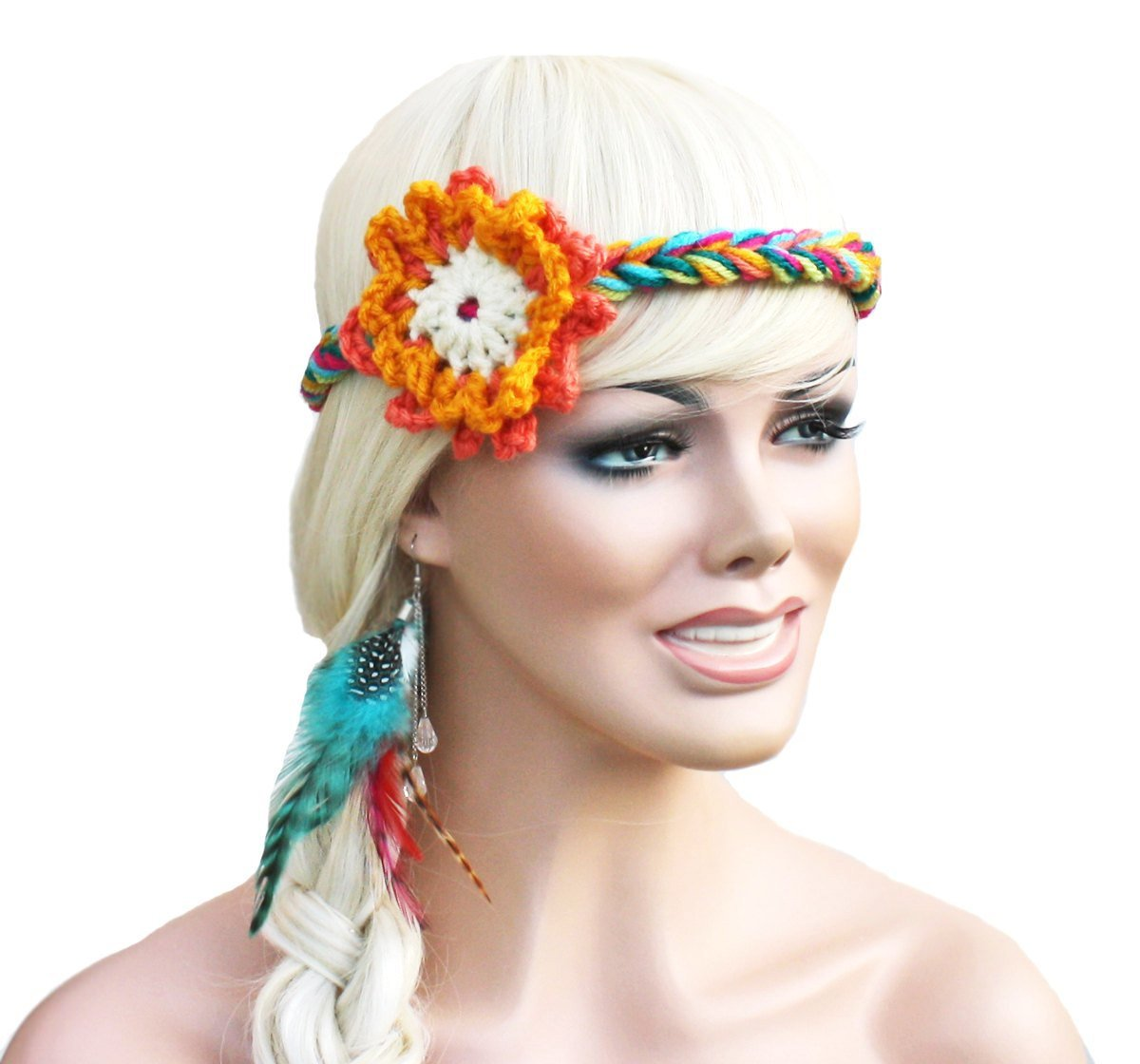 tie dye headbands photo - 1