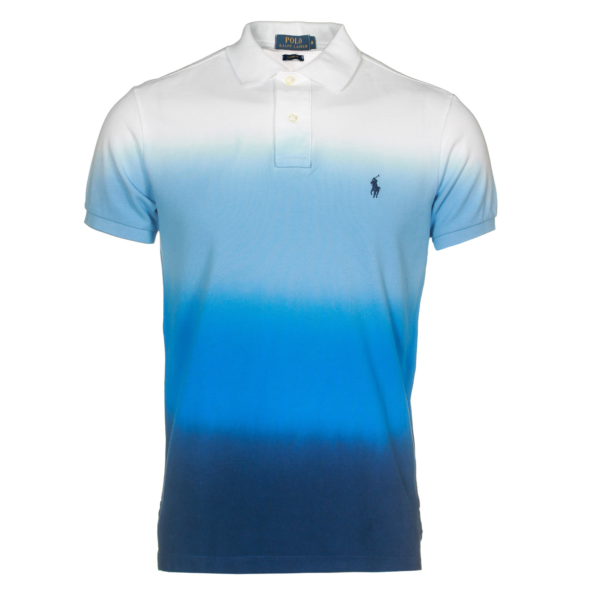 tie dye polo shirt ralph lauren photo - 1