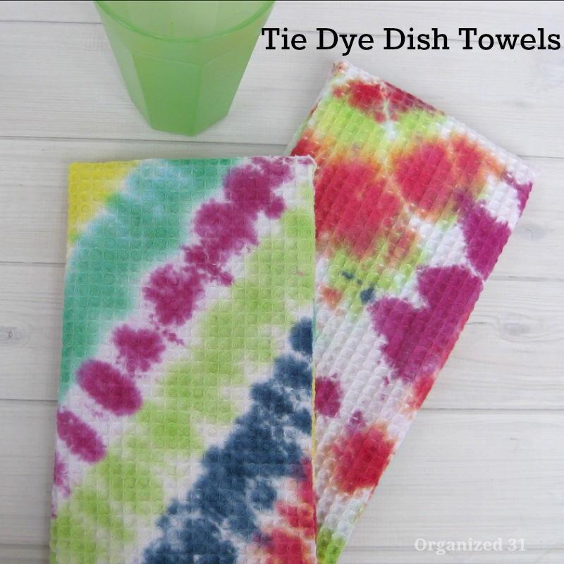 tie dye towels photo - 1
