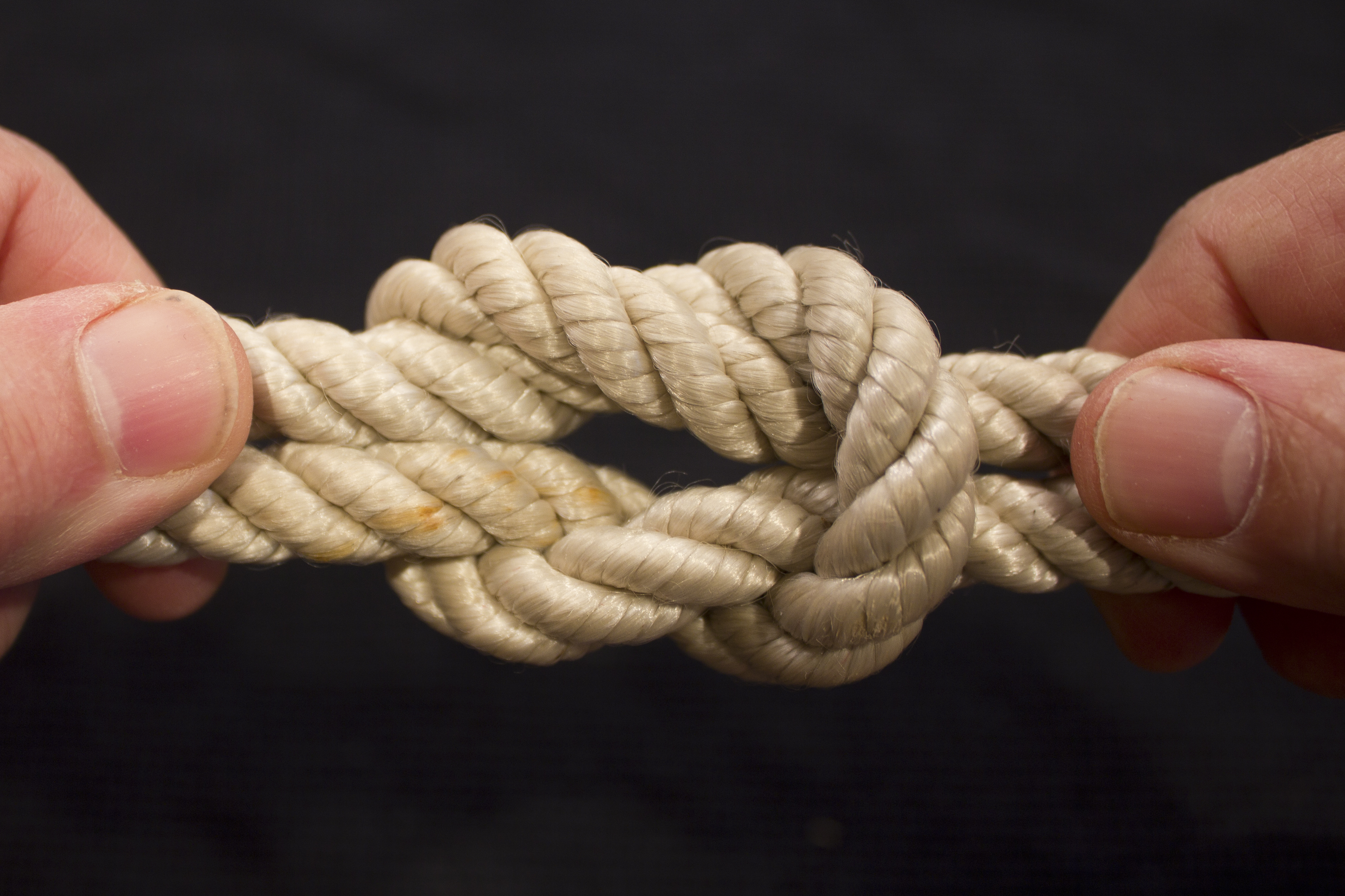 tie two ropes together photo - 1