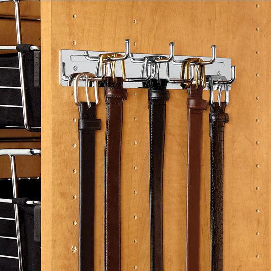 wall mount tie rack photo - 1