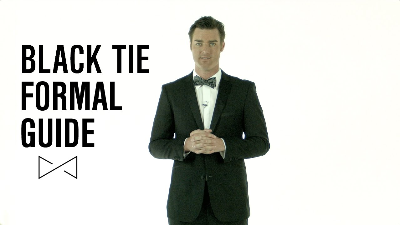 what to wear to a black tie event photo - 1