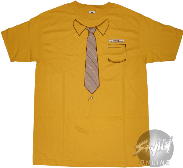 yellow office shirt photo - 1